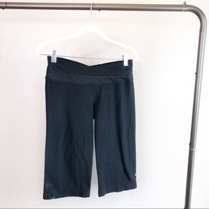 Lululemon Black Capri Athletic Pants